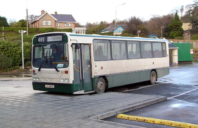 Former Ulsterbus Dart 605 - Nov 2005 (Paul Savage)