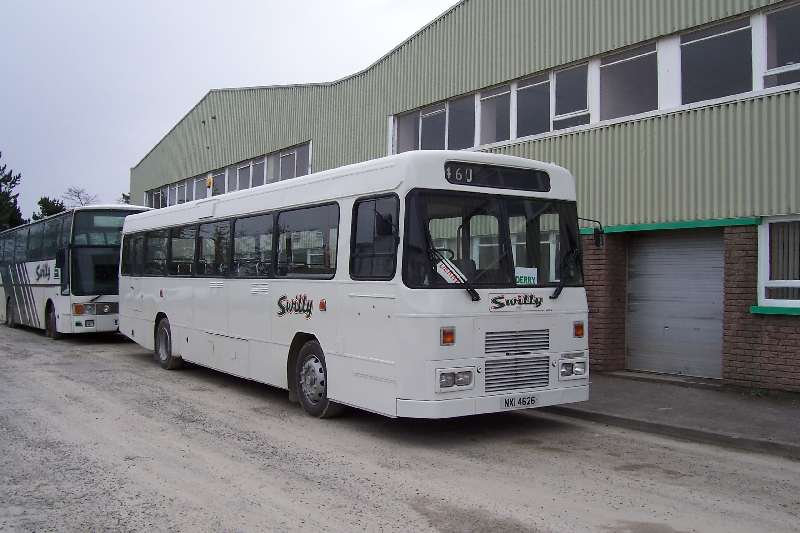 Former Citybus Tiger/Alexander 460 - April 2005 (Will Hughes)