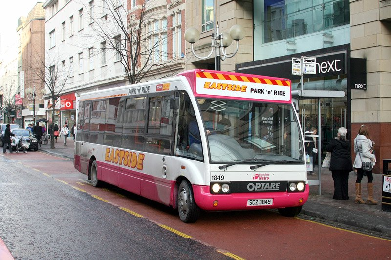 Solo 1849 - Belfast City Centre - January 2010 (Paul Savage)