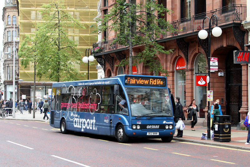 Solo 1881 unusually on route 64 - Royal Avenue - Aug 2011  - [ Paul Savage ]