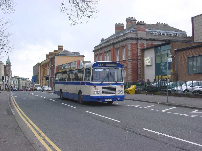 RE 2432 - still in use on the Lisburn Road - Feb 2004