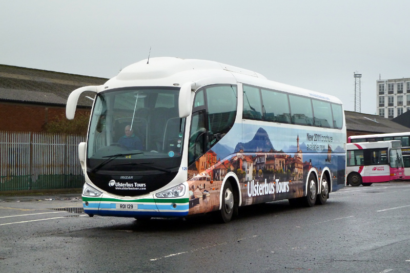 Scania 129 with 2011 advert - GVS - Feb 2011  - [ Paul Savage ]