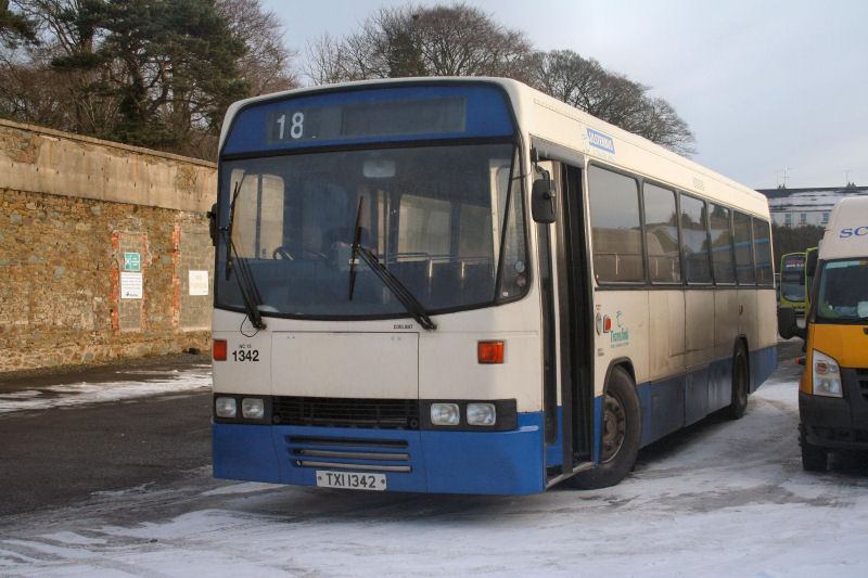 The oldest Tiger in the Ulsterbus fleet - 1342 - Ballynahinch - Dec 2010  - [ Martin Young ]