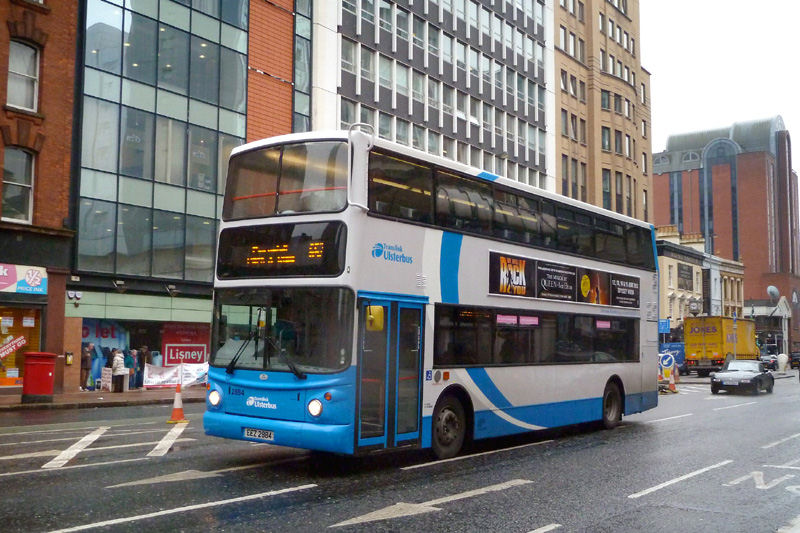 Ex Metro B7TL 2884 now with Ulsterbus - Gt Vict St - Mar 2013  [ Paul Savage ]