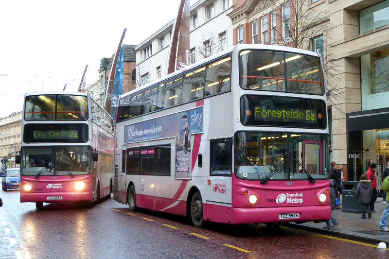Volvo B7 2945 - Donegall Place - Dec 2011  - [ Paul Savage ]